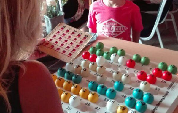 Bingo avond, ook voor de kinderen